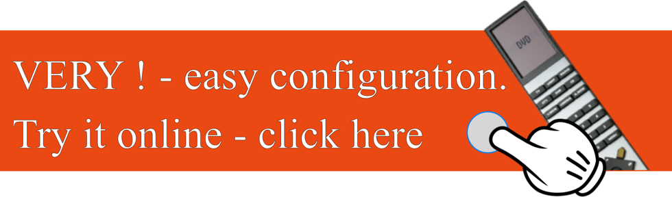 Very easy configuration - try it here.